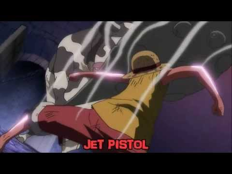 One Piece Attaque Finale - Luffy Vs Minautorus - Gomu Gomu No Jet Pistol video