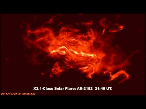 SOLAR ACTIVITY UPDATE: X3.1-Class Solar Flare (Oct 25th, 2014).