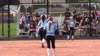 Aloha High School Baseball vs Softball Slow Pitch Scrimmage
