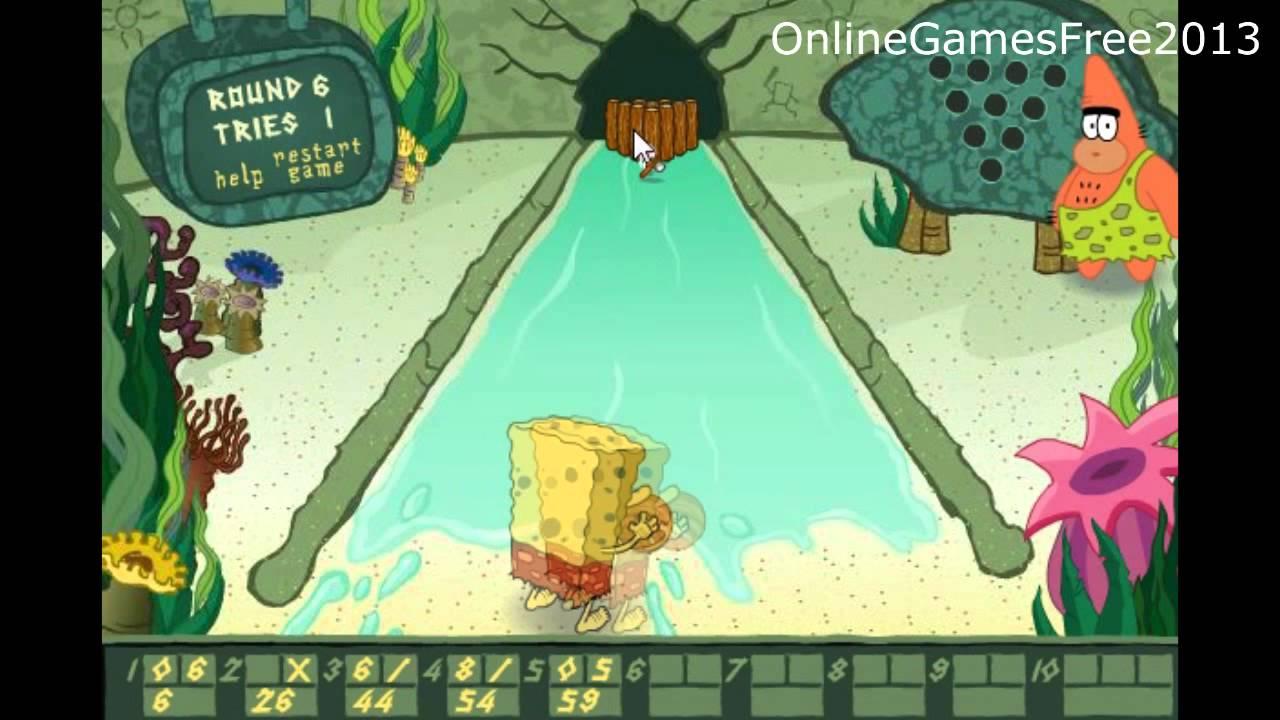 Online Games Spongebob bc