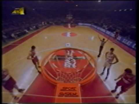 Olympiakos vs CSKA 79-54 Euroleague 1995 QF