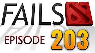 Dota 2 Fails of the Week - Ep. 203