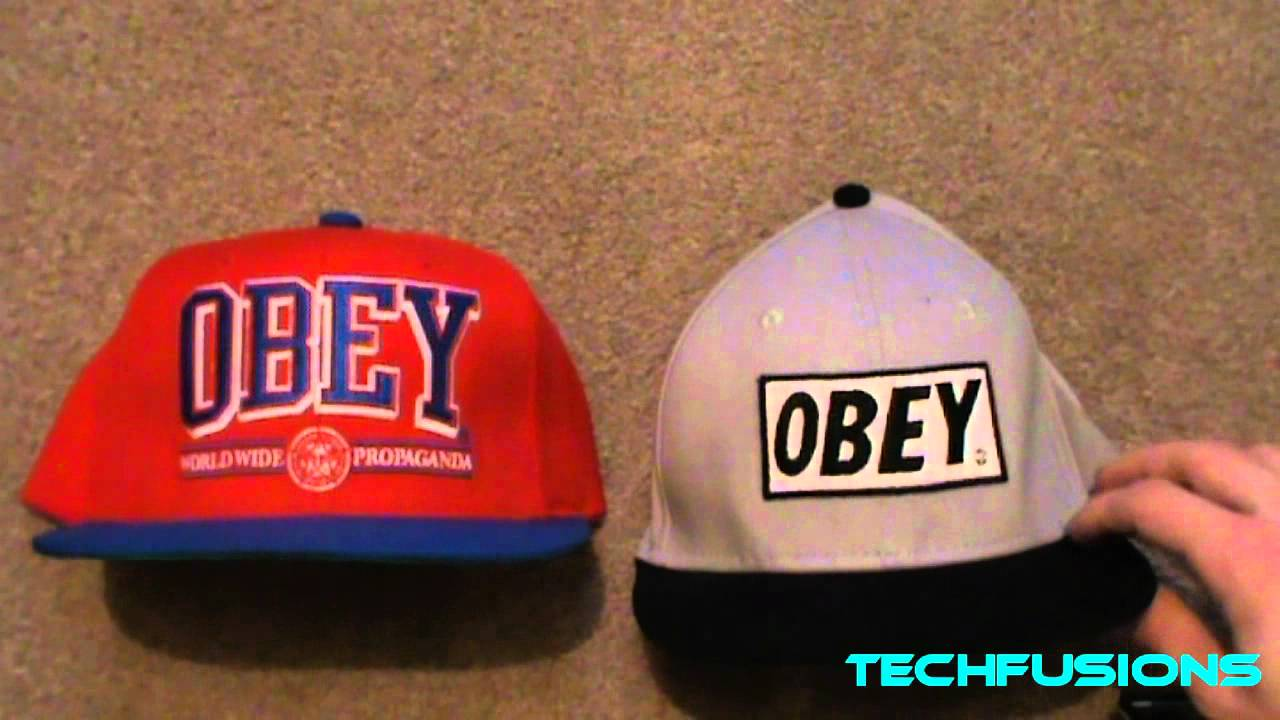 Real Obey VS Fake (Replica) Obey Snapback - YouTube