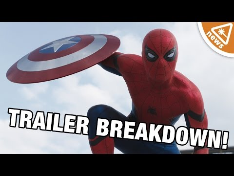 Captain America Civil War Trailer 2 Breakdown! (Nerdist News w/ Kyle Hill)