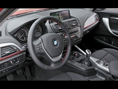 Обзор BMW 1 series (F20) 2011, интерьер