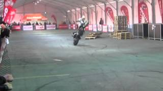 Chris Pfeiffer Stunt Show at Eurasia Motobike Expo İstanbul
