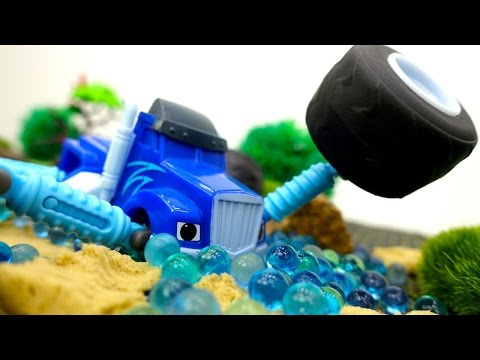 Вспыш и чудо-машинки - Вспыш и Зэг применяют Суперскорость