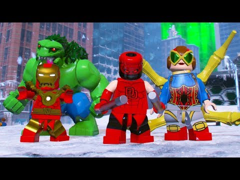 LEGO Marvel Super Heroes 2 All Out Of Time Character Pack DLC Characters Unlocked