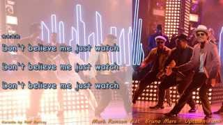 Mark Ronson Feat Bruno Mars Uptown Funk Voice And Choir Karaoke By Rolf Rattay Hd