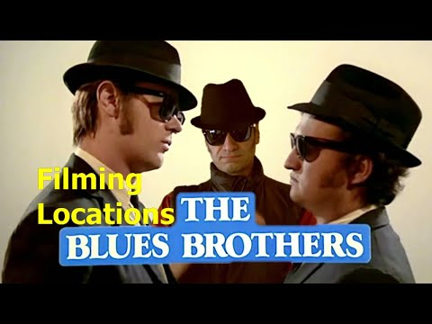 FOLLOW ME ON FACEBOOK http://www.facebook.com/pages/On-The-Set-The-Movie-Filming-Locations-Channel/142496402443046 The Blues Brothers is a 1980 musical comed...