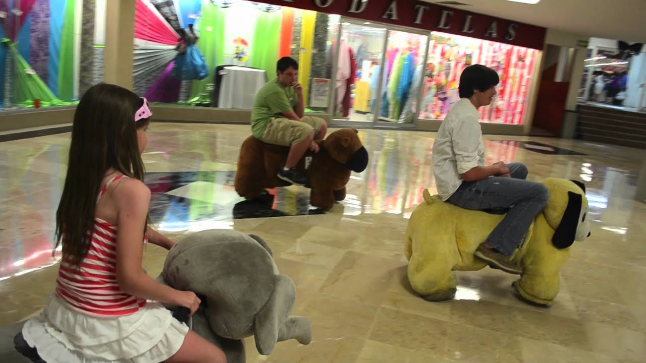 Stuffed Animal Ride Chedraui Mall Cozumel Youtube