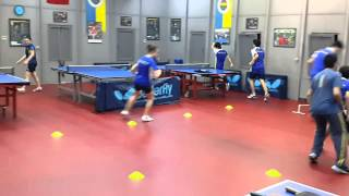 FB Table Tennis Coordination, agility and speed 2