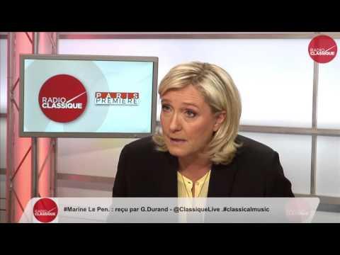 2 ème partie de l'interview de Marine Le Pen (19/04/2016)