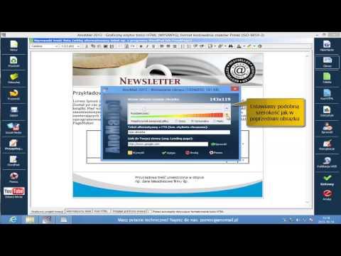 Tworzenie Szablonu Wiadomości E-mail W Formacie Graficznym (HTML) - AnoMail Desktop