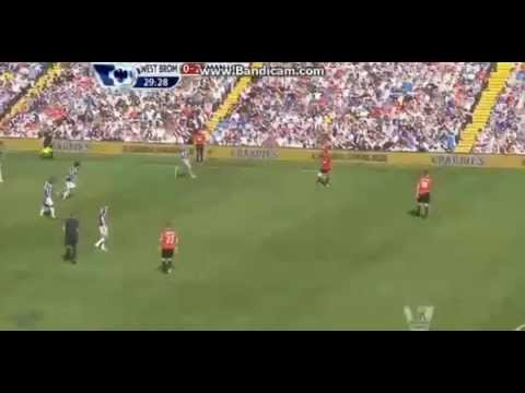 Buttner Amazing Team Goal (West Brom 0-3 Manchester Utd) 19.05.2013