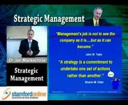 Strategic Management -Part 1 of 7