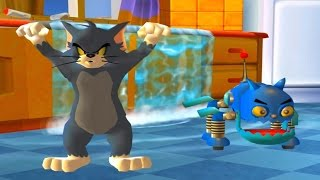 Tom and Jerry Cartoon Game for Kids - Tom and Robocat vs Monster Jerry - Funny Games HD