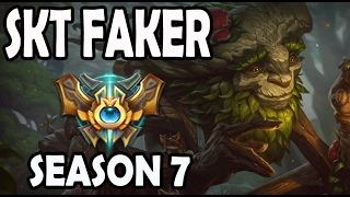 FAKER plays IVERN Jungle vs ROX Kuro LEE SIN