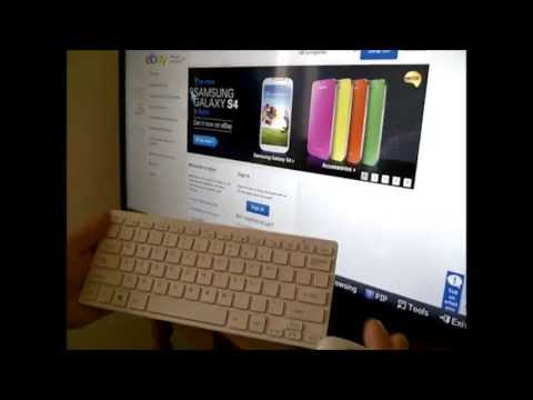 Wireless MINI Keyboard & Mouse Set for Smart TV's (Samsung. Panasonic. Toshiba. LG)