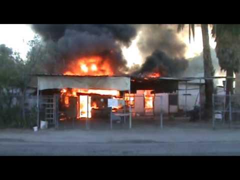 Bomberos Mexicali incendio de casa