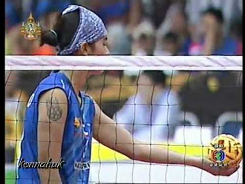 Thailand Vs Vietnam''Women Final''2011 Sepak Takraw World Cup Part 2