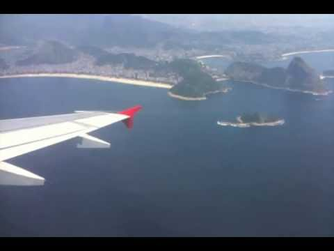 Beautiful Rio de Janeiro, Santos Dumont (SDU) Take Off