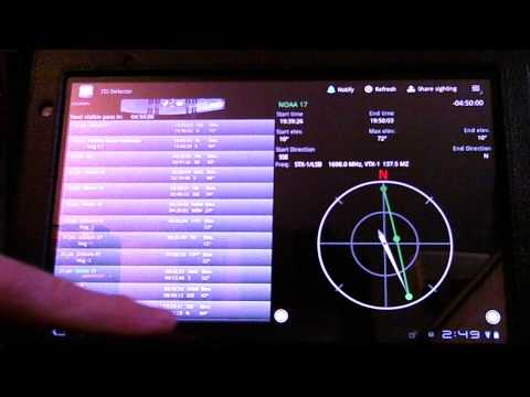 TRRS #0055 - Satellite Tracking on your Android PHone or Tablet