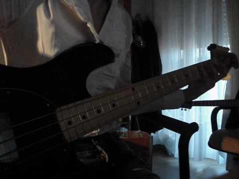 Litfiba - El Diablo Bass Cover