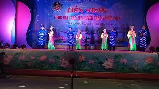 Liên Hoan tiếng hát làng sen 2019 xã nghĩa hoàn
