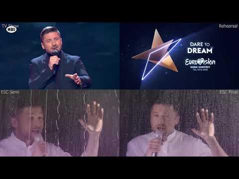 Sergey Lazarev Scream 4split Eurovision 2019 Russia