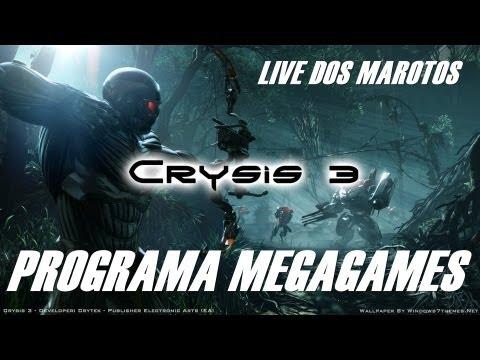 Crysis 3 - Primeira Live do youtube BR