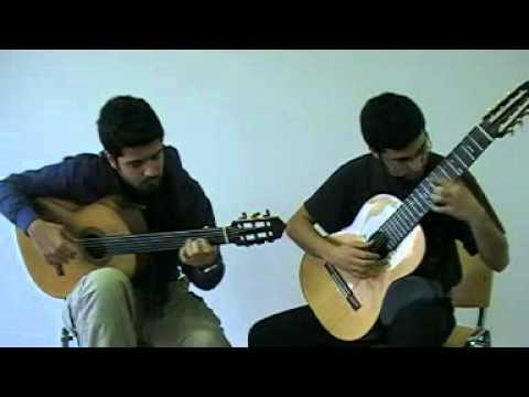 Microtonal Guitar Duo - Yemen Türküsü - Sinan Cem Eroğlu & Tolgahan Çoğulu