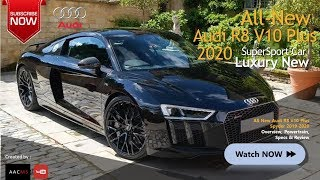 is That 2020-2019 Audi R8 V10 Plus New Spyder?!.. It's Super Sport Car Luxury (Real Overview)