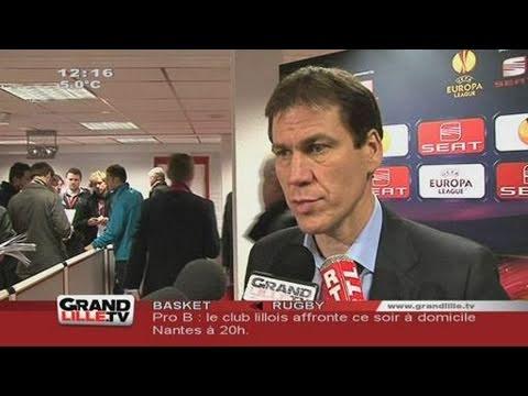 Europa League: Lille - PSV Eindhoven (2 à 2), Rudi Garcia