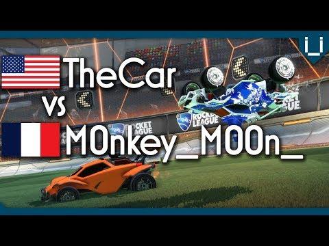 TheCar (Rank 1 NA) vs M0nkey_M00n_ (Rank 1 PS4) | £100 Rocket League 1v1