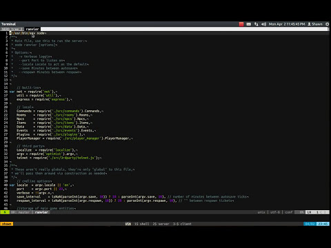 Vim workflow with GNU Screen