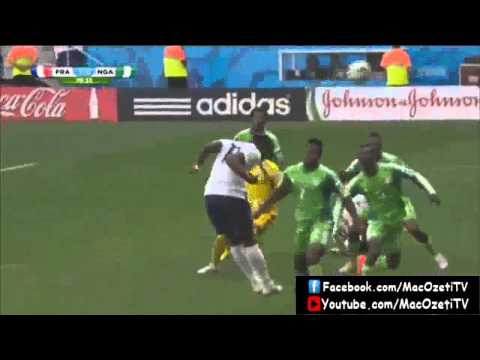 Fransa - Nijerya Özet Ve Goller HD Highligts France Nigeria World Cup 2014