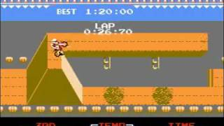 TAS Excite Bike NES in 5:29 by Lord Tom