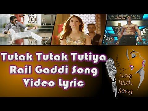 Rail Gaddi Video Lyric | Tutak Tutak Tutiya | Prabhudeva | Sonu Sood | Esha Gupta | Navraj Hans