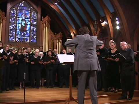"Kodaly's ""Miss Brevis"" Credo - California Redwood Chorale -directed by Daniel Canosa"