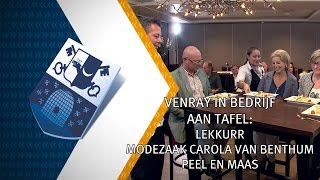 venray in bedrijf aan tafel 24 oktober 2015 - Peel en Maas TV Venray