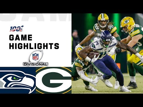 Seahawks vs. Packers Divisional Round Highlights  NFL 2019 Playoffs