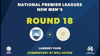 NPL NSW, Round 18, Sydney FC v Rockdale City Suns FC NPLNSW