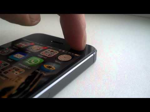 Хлюпает экран айфон 5