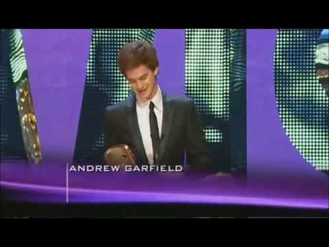 Andrew Garfield wins Best Actor BAFTA (2008)