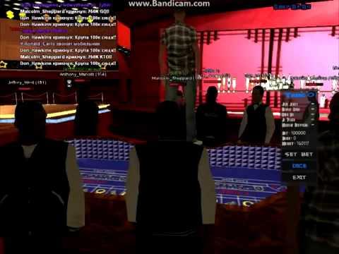 рулетка в казино самп рп