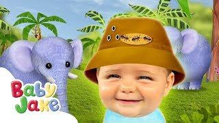 Baby Jake - Fun With Elephants   Full Episodes   Yaki Yaki Yogi   Cartoons for Kids