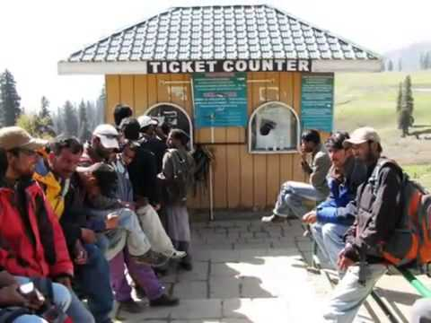 Gulmarg Gondola Cable Trolley Ride Stage From Shimla Tourism.