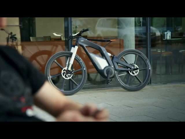 Audi e-bike Official - A bicycle that runs at 80 ... - YouTube
