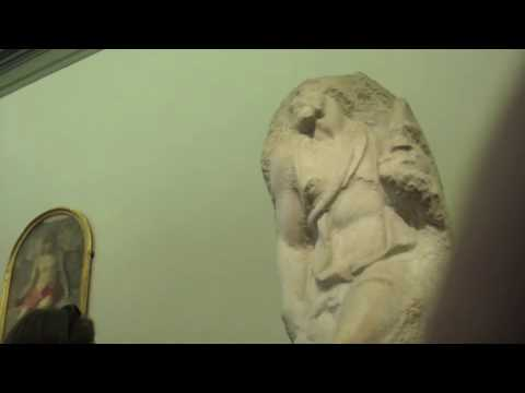 Inside Accademia museum-Florence-Michelangelo's David etc.
